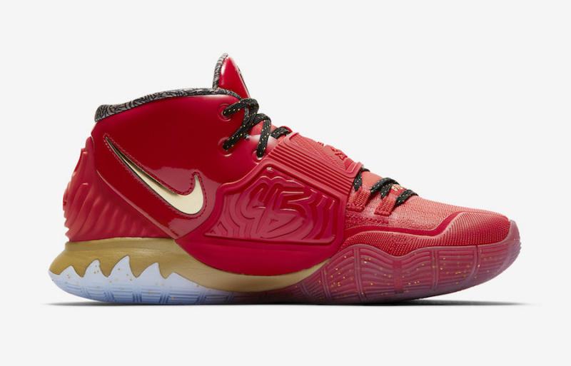 "Nike Kyrie 6 ""Trophies"" вдохновлены чемпионским титулом «Чикаго Буллз» 1996 года"