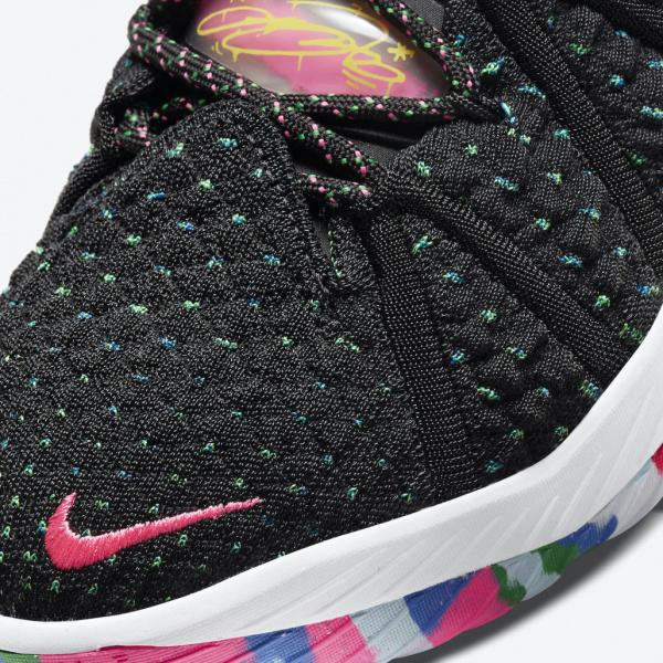 Официальные фото Nike LeBron 18 «James Gang»