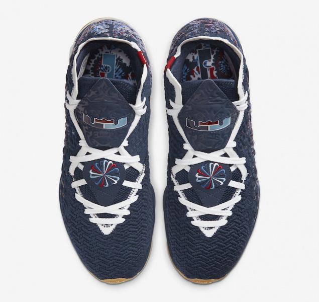 "Nike LeBron 17 ""College Navy"""
