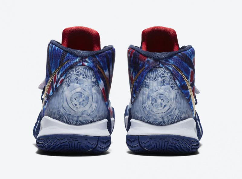 Официальные фото Nike Kyrie S2 Hybrid «What The USA»