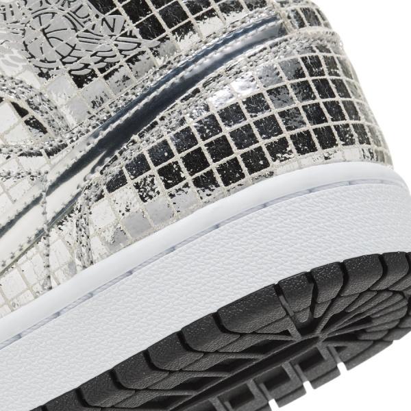 Air Jordan 1 Mid 'Disco Ball' вдохновлены ночной жизнью 70-х годов