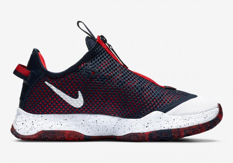Официальные фото Nike PG 4 «USA»