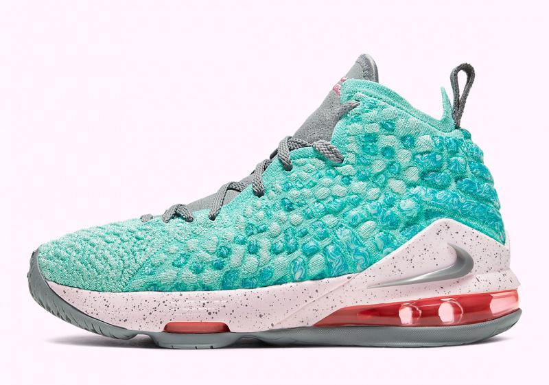 "ЛеБрон Джеймс «вернется» в Майами благодаря Nike LeBron 17 GS ""South Beach"""