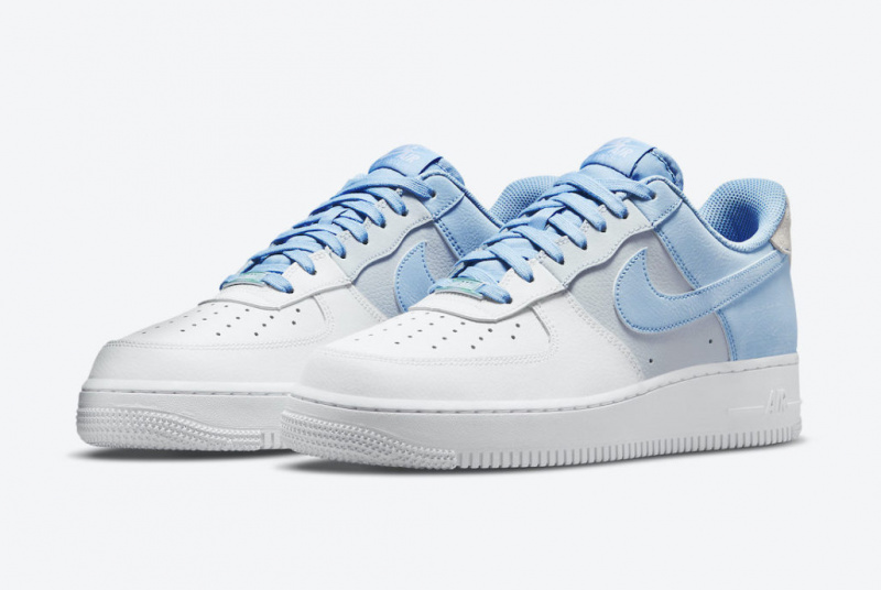 Спокойный триколор Nike Air Force 1 «Psychic Blue»