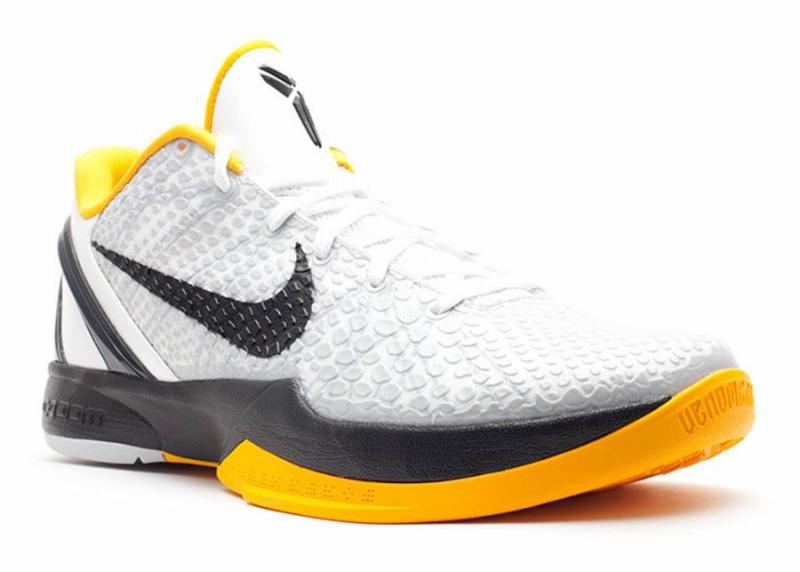 Nike Kobe 6 Protro будут иметь расцветку 'White Del Sol'