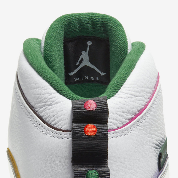 Официальные фото Air Jordan 10 'Wings'