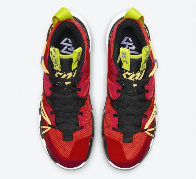 Официальные фото Jordan Why Not Zer0.3 «Bright Crimson»