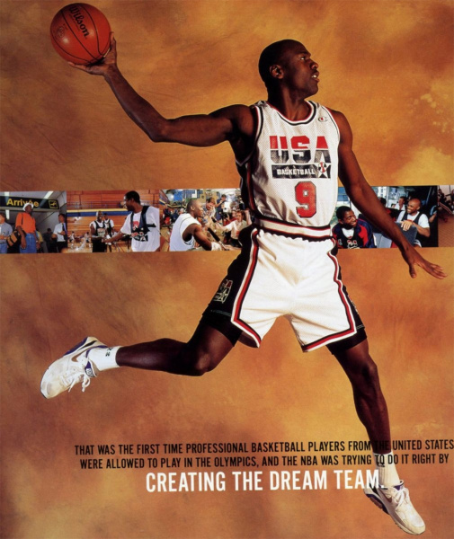 Эти Jordan Mars 270 вдохновлены фотографией Майкла Джордана на Олимпиаде 1992 года