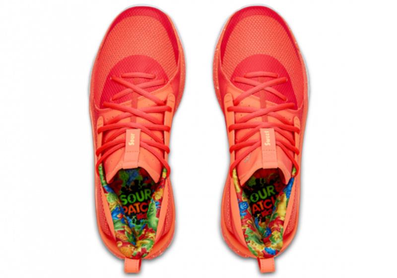 Sour Patch Kids x UA Curry 7 — первый взгляд на коллаборацию кроссовок Стефена Карри и сладких конфет