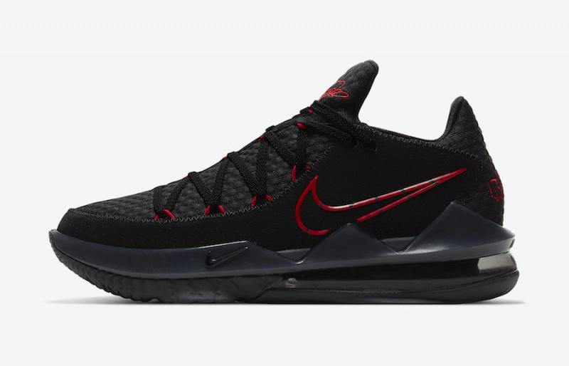 Официальные фото Nike LeBron 17 Low 'Bred'