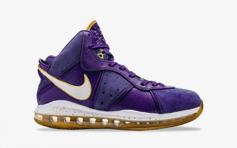 "Первая информация о Nike LeBron 8 ""Lakers"""