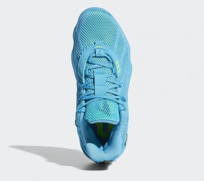 adidas Dame 7 «Jam Fest» получили ярко-бирюзовую расцветку