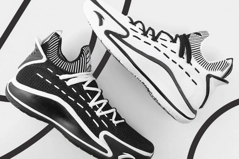 Детали новой расцветки баскетбольных кроссовок Клэя Томпсона ANTA KT5 «Nijigen» Pack