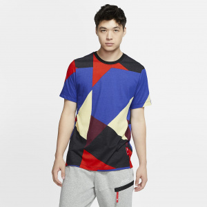 Мужская баскетбольная футболка Nike Dri-FIT Kyrie Geometric CD0929-100