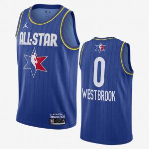Мужская джерси Jordan НБА Swingman Russell Westbrook All-Star CJ1059-404