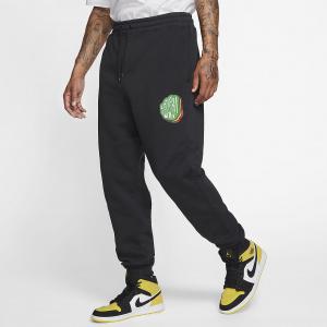 Мужские флисовые брюки Jordan Jumpman Sticker CT6725-010