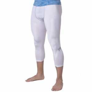 Тайтсы компрессионные MVP Leggins 3/4 TIGHT2WHITE