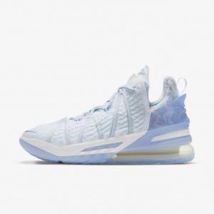 """Баскетбольные кроссовки LeBron 18 """"Play for the Future"""" - Синий"""