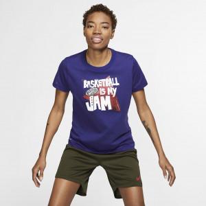"""Женская баскетбольная футболка Nike Dri-FIT """"Basketball is my Jam"""" BQ3683-590"""
