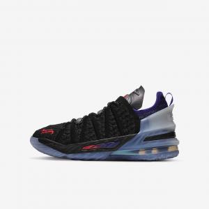 """Баскетбольные кроссовки для школьников LeBron 18 """"The Chosen 2"""" - Черный"""