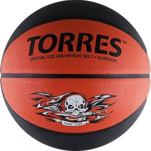 Баскетбольный мяч Torres Game Over B00117-1