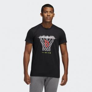 Мужская футболка adidas Dame Logo Basketball Hoop FM4791