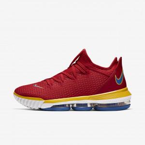 Мужские баскетбольные кроссовки Nike Lebron 16 Low CK2168-600