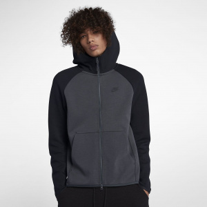 Мужская худи с молнией во всю длину Nike Sportswear Tech Fleece 928483-060