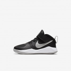 Детские баскетбольные кроссовки Nike Team Hustle D 9 Strap AQ4225-001