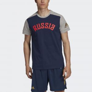 Мужская футболка adidas Россия Performance FJ9470