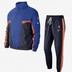 Мужской спортивный костюм Nike НБА Knicks Courtside City Edition CT4161-419