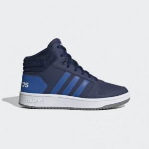 Детские баскетбольные кроссовки adidas Hoops 2.0 Mid EE6707