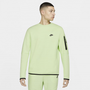 Мужской свитшот Nike Sportswear Tech Fleece - Зеленый