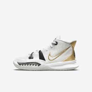 Баскетбольные кроссовки для школьников Kyrie 7 - Белый