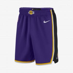 Мужские шорты Nike НБА Los Angeles Lakers Statement Edition Swingman AJ5615-504