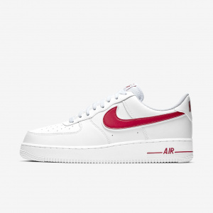 Мужские кроссовки Nike Air Force 1'07 White/Gym Red AO2423-102