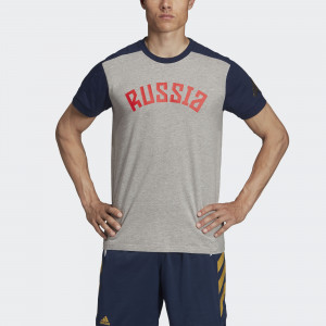 Мужская футболка adidas Россия Performance FJ9469