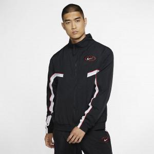 Мужская баскетбольная куртка Nike Throwback AV9755-010