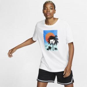 Женская баскетбольная футболка Nike Dri-FIT Basketball Photo BV8338-100