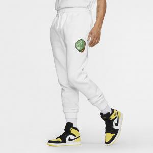 Мужские флисовые брюки Jordan Jumpman Sticker CT6725-100
