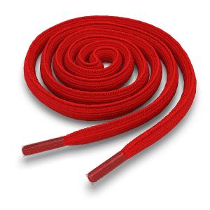 Шнурки овальные 120 см OV-LACE-RED-120