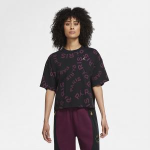 Женская футболка со свободным кроем и коротким рукавом Jordan Paris Saint-Germain Boxy Short-Sleeve T-Shirt CU5696-010