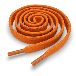 Шнурки плоские 160 см FL-LACE-OR-160