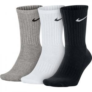 Носки спортивные Nike Value Cotton Crew Socks 3 пары SX4508-965