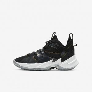 """Баскетбольные кроссовки для школьников Jordan """"Why Not?"""" Zer0.3 CD5804-001"""