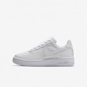 Кроссовки для дошкольников/школьников Nike Air Force 1 Flyknit 2.0 BV0063-100