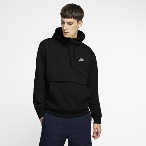 Мужская худи с молнией на половину длины Nike Sportswear Club Fleece BV2699-010