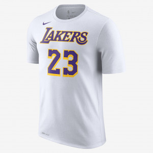 Мужская футболка НБА LeBron James Los Angeles Lakers Nike Dri-FIT BQ1540-110