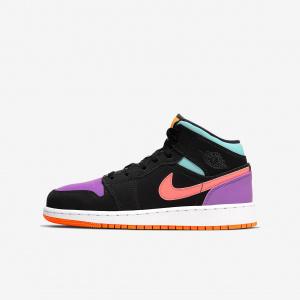 Кроссовки для школьников Air Jordan 1 Mid 554725-083