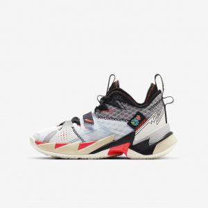 """Баскетбольные кроссовки для школьников Jordan """"Why Not?"""" Zer0.3 CD5804-101"""
